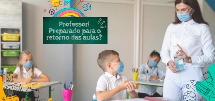 Retorno das aulas presenciais pós pandemia